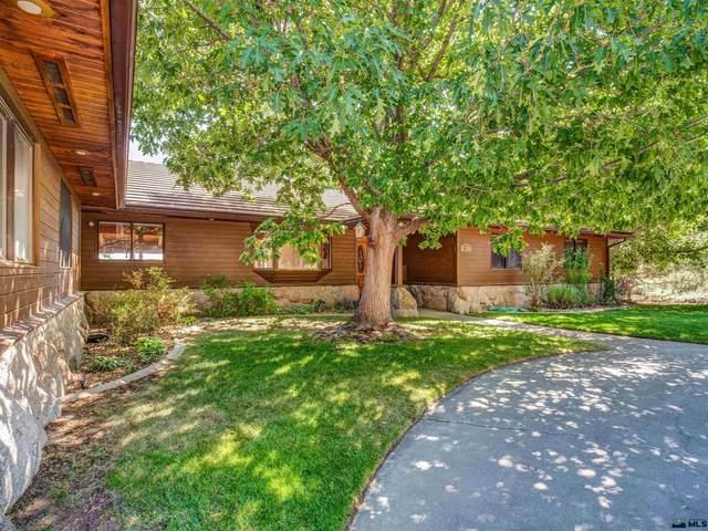 201 Shadow Mountain Circle, Gardnerville, NV 89460 (MLS #210011632) :: NVGemme Real Estate