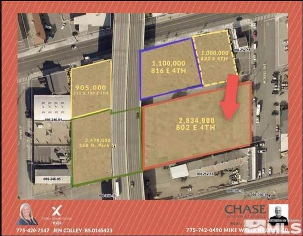 802 E 4th Street, Reno, NV 89512 (MLS #210011796) :: Colley Goode Group- CG Realty