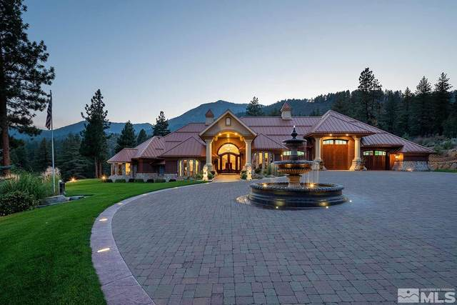 1453 Casey Ranch Drive, Washoe Valley, NV 89704 (MLS #210012583) :: NVGemme Real Estate
