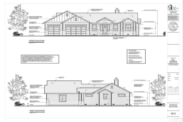 210 Angelina Cr, Smith, NV 89430 (MLS #210013179) :: Chase International Real Estate