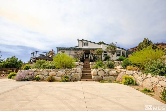 832 Big Valley, Gardnerville, NV 89410 (MLS #210013200) :: Vaulet Group Real Estate