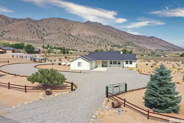 42 Colony Estates, Wellington, NV 89444 (MLS #210013235) :: Chase International Real Estate