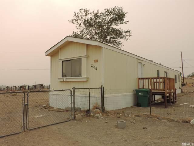 7595 Santa Fe Trail, Stagecoach, NV 89429 (MLS #210013276) :: NVGemme Real Estate