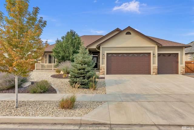 1114 Chantel Drive, Minden, NV 89423 (MLS #210013394) :: Chase International Real Estate