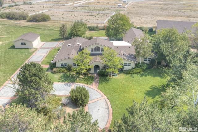 7498 Old Us 395, Washoe Valley, NV 89704 (MLS #210013508) :: NVGemme Real Estate