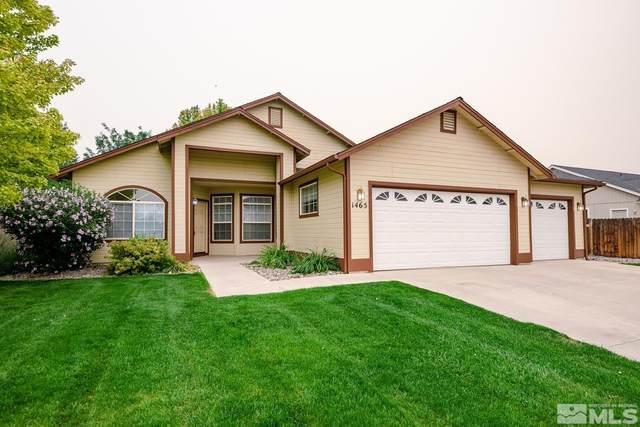 1465 Harvest Ave, Gardnerville, NV 89410 (MLS #210013530) :: Theresa Nelson Real Estate