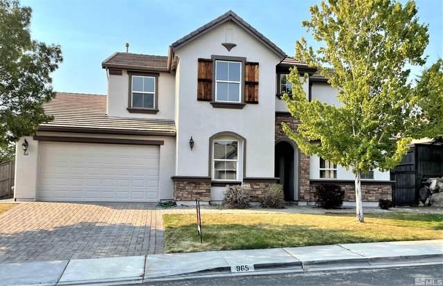 965 N University Park Loop, Reno, NV 89512 (MLS #210013533) :: Chase International Real Estate