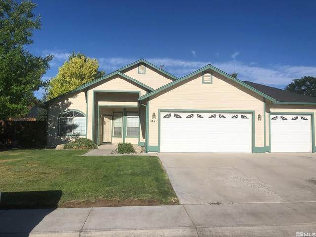 1471 Harvest Ave, Gardnerville, NV 89410 (MLS #210013790) :: Colley Goode Group- CG Realty