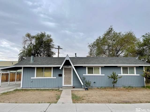 105 W D Street, Fallon, NV 89406 (MLS #210013793) :: Vaulet Group Real Estate
