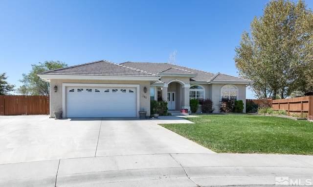 341 Hollyhock Circle, Fallon, NV 89406 (MLS #210013807) :: Vaulet Group Real Estate