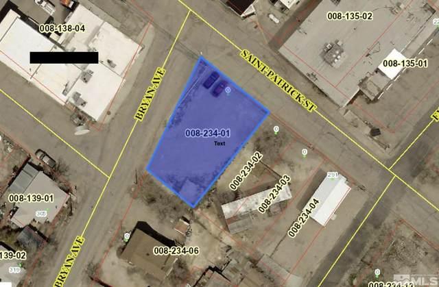 0 St. Patrick Street, Tonopah, NV 89049 (MLS #210013917) :: Morales Hall Group