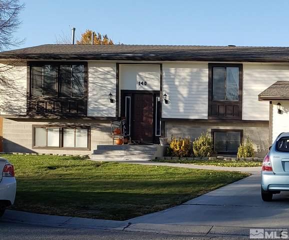 140 Oak Cir, Lovelock, NV 89419 (MLS #210014072) :: Chase International Real Estate