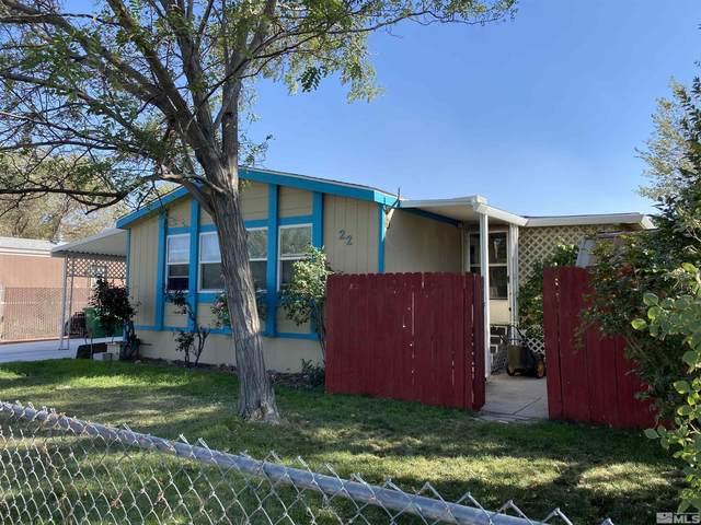 22 Century Circle, Carson City, NV 89706 (MLS #210014216) :: Vaulet Group Real Estate