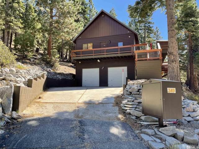 349 Barrett Drive, Stateline, NV 89449 (MLS #210014274) :: Vaulet Group Real Estate