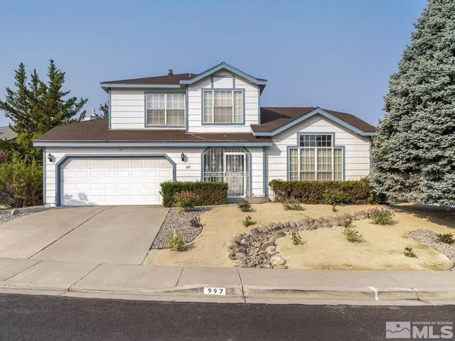 997 Edgecliff Drive, Reno, NV 89523 (MLS #210014400) :: NVGemme Real Estate