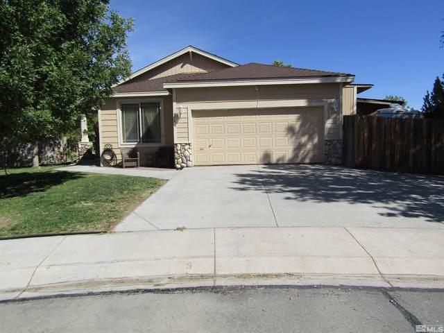 656 Rock Island Dr., Dayton, NV 89403 (MLS #210014525) :: NVGemme Real Estate