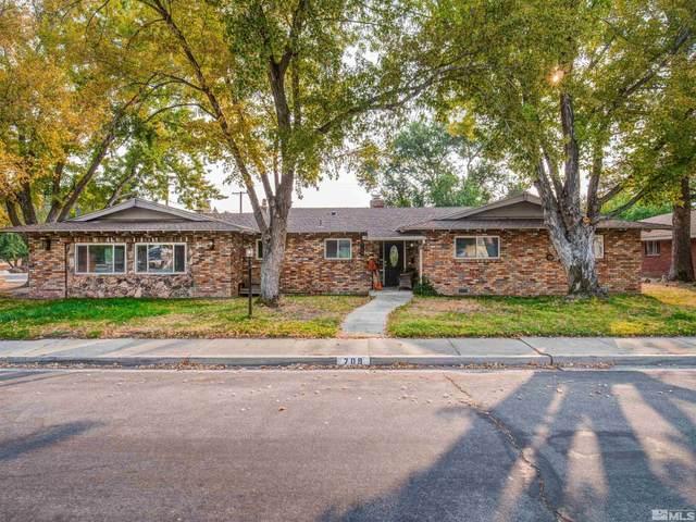 709 Richmond Ave, Carson City, NV 89703 (MLS #210015166) :: NVGemme Real Estate