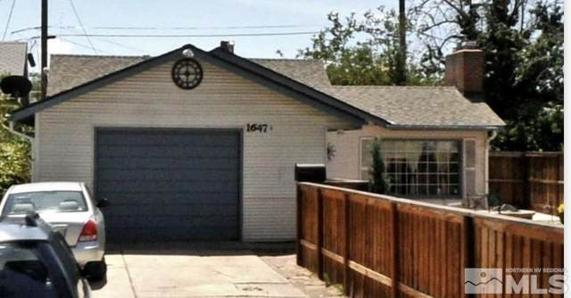 1647 F Street, Sparks, NV 89431 (MLS #210015264) :: Colley Goode Group- CG Realty