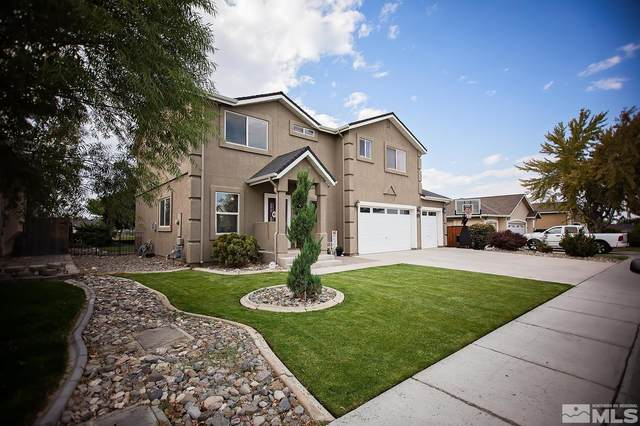 447 Dog Leg Drive, Fernley, NV 89408 (MLS #210015856) :: NVGemme Real Estate