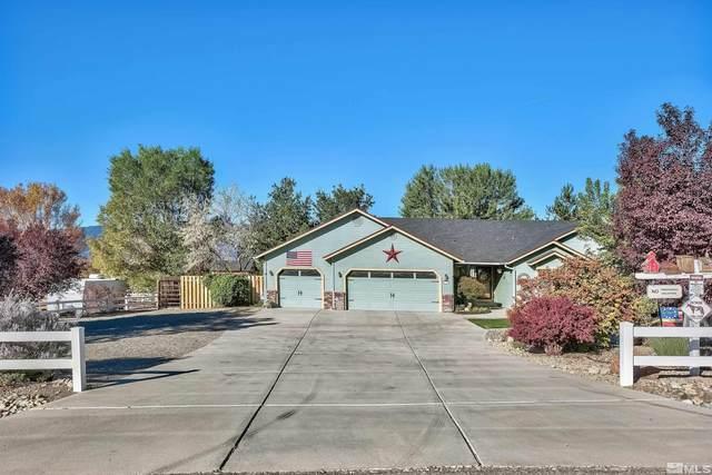 1395 Porter Dr, Minden, NV 89423 (MLS #210015994) :: NVGemme Real Estate