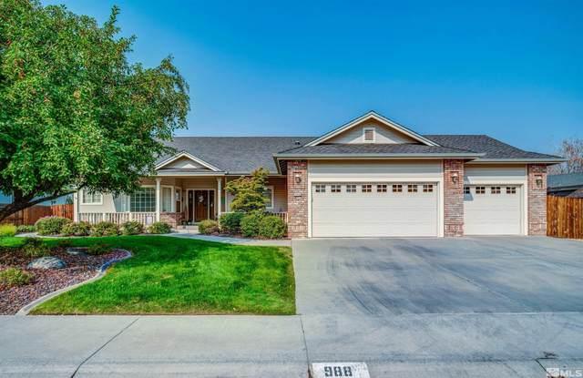 988 Springfield, Gardnerville, NV 89460 (MLS #210016196) :: Vaulet Group Real Estate