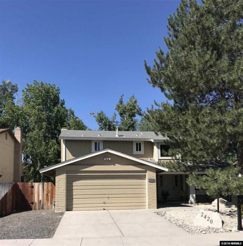 2420 Woodcrest, Carson City, NV 89701 (MLS #180012638) :: Chase International Real Estate