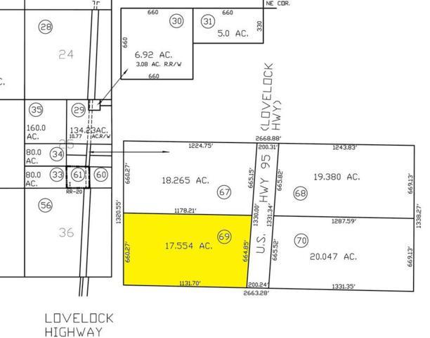 00 N Hwy 95, Fallon, NV 89406 (MLS #190011887) :: Chase International Real Estate