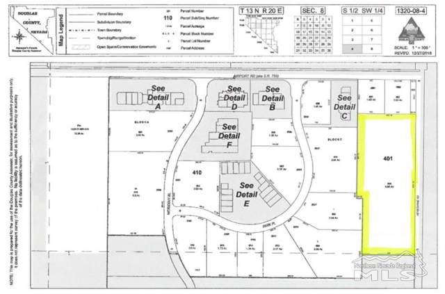 Lot 401 Heybourne Rd, Minden, NV 89423 (MLS #190015087) :: Vaulet Group Real Estate