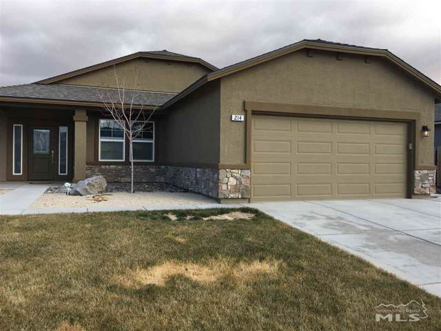 214 Red Oak, Fernley, NV 89408 (MLS #190017419) :: Chase International Real Estate