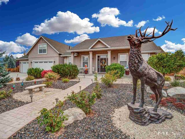2821 North Fork Lane, Minden, NV 89423 (MLS #200012172) :: The Mike Wood Team