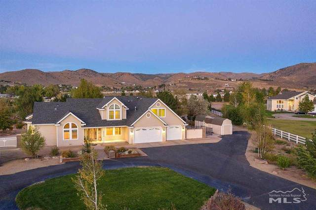 3620 Jacobs Court, Washoe Valley, NV 89704 (MLS #200014022) :: The Craig Team