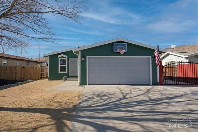 205 Glen Vista Dr, Dayton, NV 89403 (MLS #210000527) :: NVGemme Real Estate