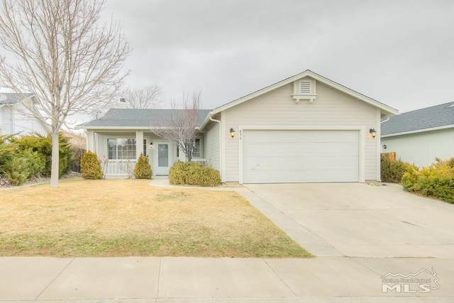 896 Meadow Vista Dr, Carson City, NV 89705 (MLS #210001386) :: Chase International Real Estate