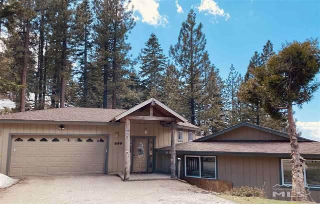 699 Bonnie Drive, Stateline, NV 89449 (MLS #210002875) :: Theresa Nelson Real Estate