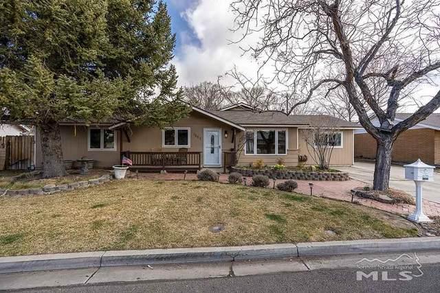 1553 Wildrose Dr., Minden, NV 89423 (MLS #210003300) :: NVGemme Real Estate