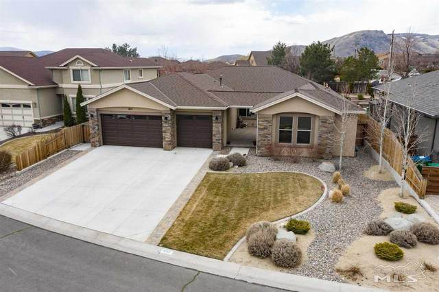 1657 Robb Dr, Carson City, NV 89703 (MLS #210003818) :: Morales Hall Group