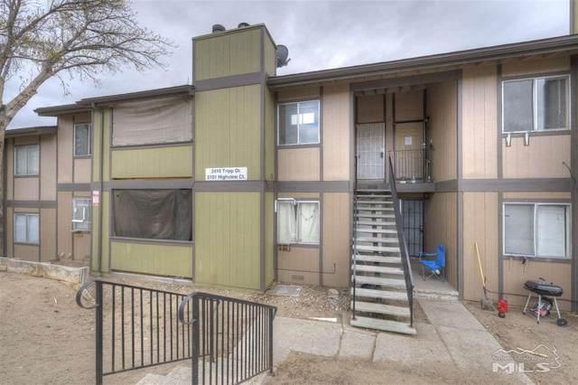 2101 Highview #14, Reno, NV 89512 (MLS #210004484) :: Craig Team Realty