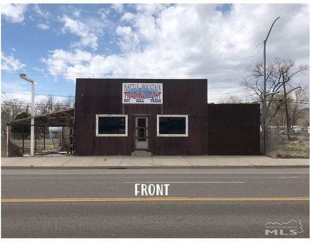 350 W Front St, Battle Mountain, NV 89820 (MLS #210005014) :: Chase International Real Estate