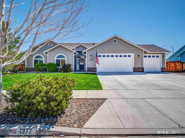 1377 Stodick Lane, Gardnerville, NV 89410 (MLS #210006131) :: Chase International Real Estate