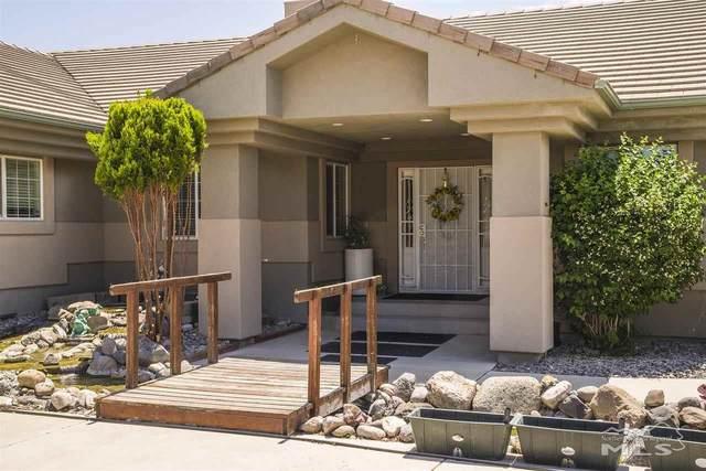 414 Tanager Rd, Fernley, NV 89408 (MLS #210007696) :: Chase International Real Estate