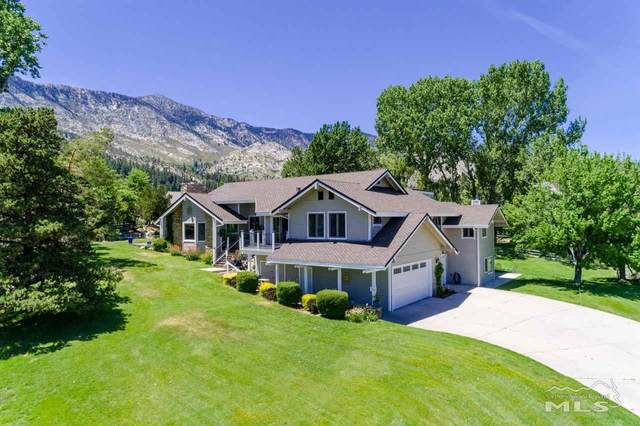 1005 Lakeside Drive, Gardnerville, NV 89460 (MLS #210008318) :: Chase International Real Estate