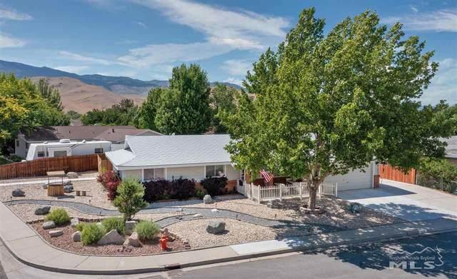 3216 Baker Dr., Carson City, NV 89701 (MLS #210008787) :: Chase International Real Estate