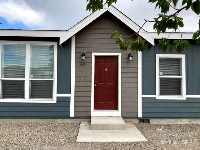 415 Six Mile Canyon Road, Dayton, NV 89403 (MLS #210009489) :: Vaulet Group Real Estate