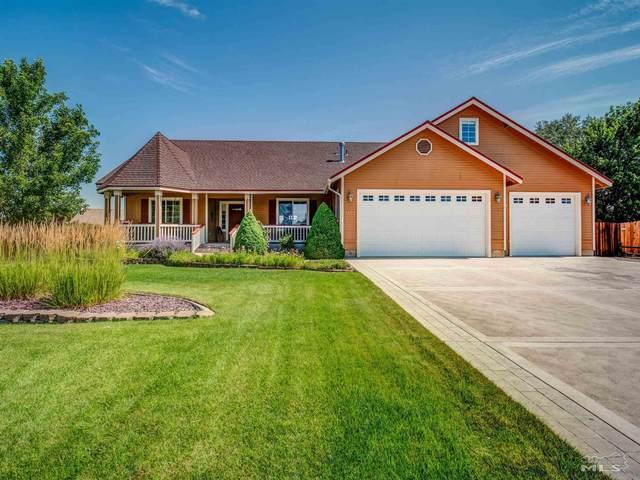 1172 Agua Caliente Ct, Minden, NV 89423 (MLS #210010547) :: NVGemme Real Estate