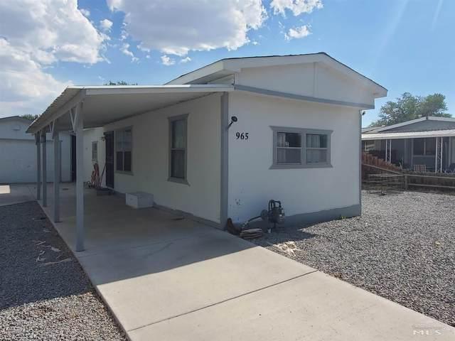 965 Villa Way, Fernley, NV 89408 (MLS #210010669) :: Chase International Real Estate