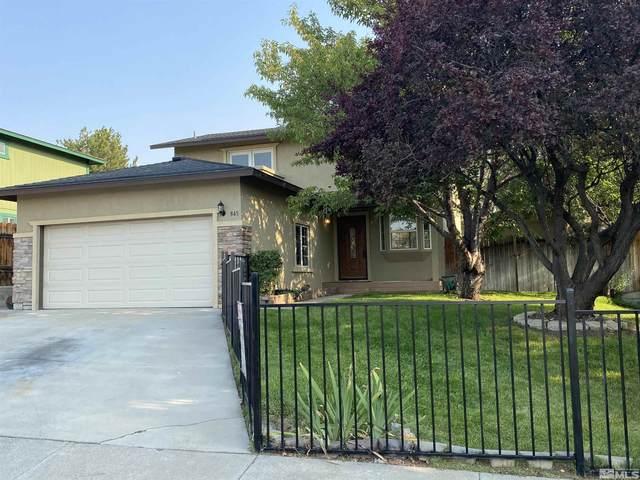 845 Isis Ct, Reno, NV 89512 (MLS #210013060) :: Chase International Real Estate