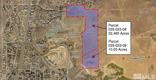 0 Rampion Way And 000 Leon Drive, Reno, NV 89433 (MLS #210013744) :: Colley Goode Group- CG Realty