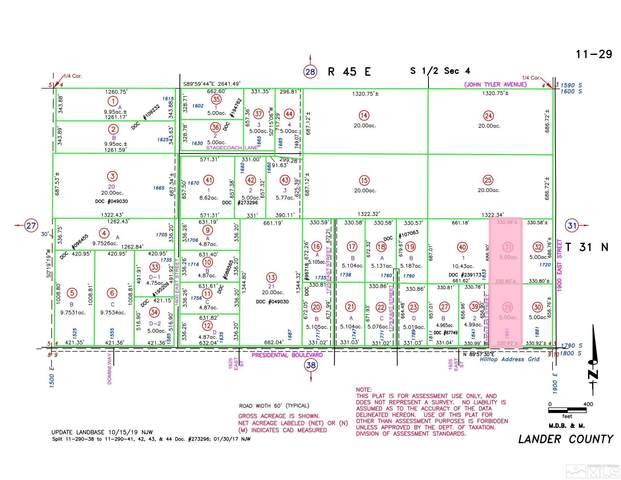 1861 Presidential Blvd, Battle Mountain, NV 89820 (MLS #210013955) :: NVGemme Real Estate