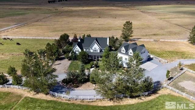 550 State Route 88, Gardnerville, NV 89460 (MLS #210014184) :: NVGemme Real Estate