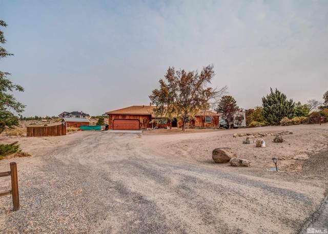 1672 Sunshine Rd, Minden, NV 89423 (MLS #210015092) :: NVGemme Real Estate